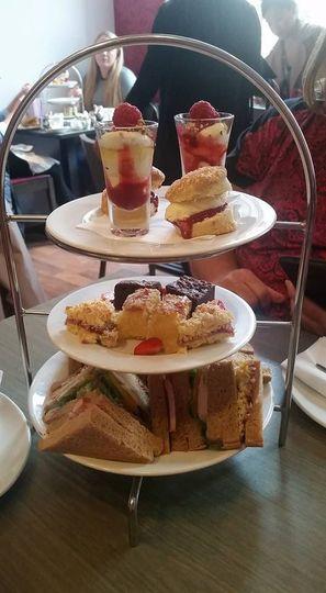 Tea time in Glasgow!