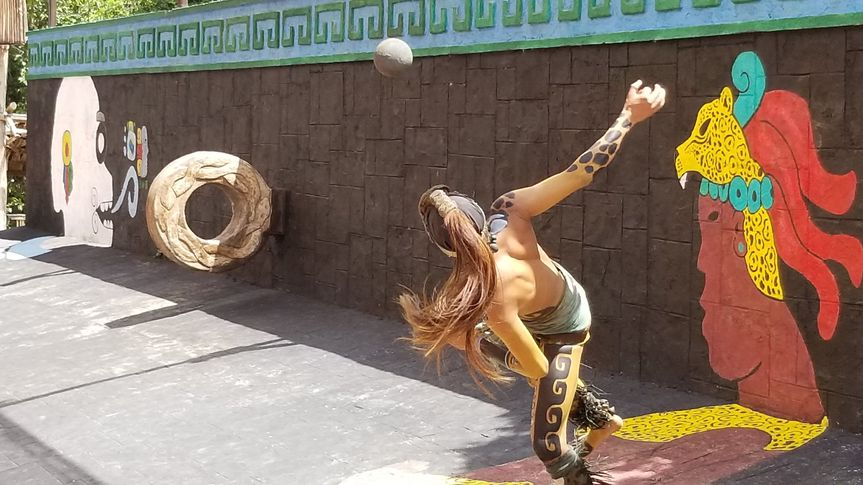 Mayan Ball Game: Pok-Ta-Pok