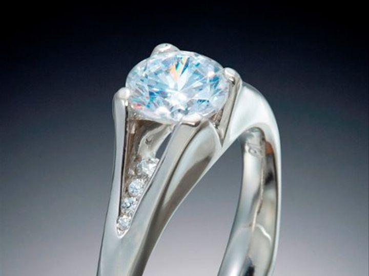 Tmx 1333573081664 PalladiumEngagementRing Boston wedding jewelry