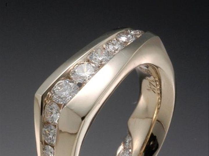 Tmx 1333573392552 DiamondChannelBand Boston wedding jewelry