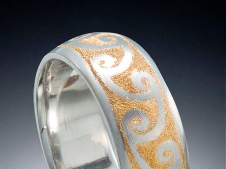 Tmx 1333573494629 Platinum24kWaveBand Boston wedding jewelry