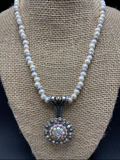 Wedding concho necklace
