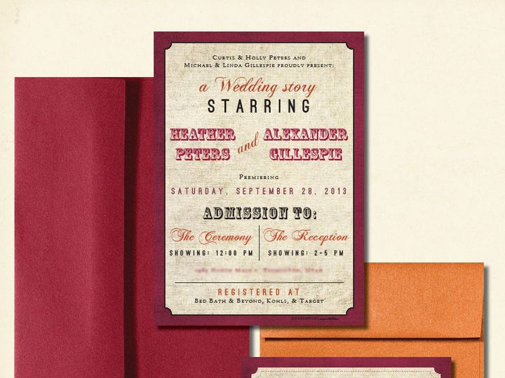 Tmx 1440103355704 Heatherwebblur Layton wedding invitation