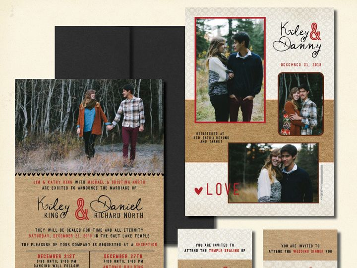 Tmx 1440103370903 Kiley4web Layton wedding invitation