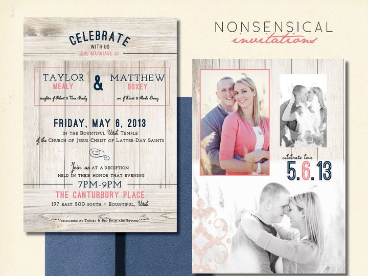 Tmx 1440103401785 Rusticromanceweb Layton wedding invitation