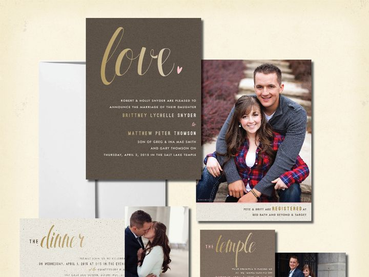 Tmx 1440103875013 Petebrittwed Layton wedding invitation