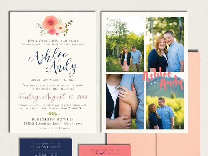 Tmx Ashlee Wed All Blush 51 781025 Layton wedding invitation