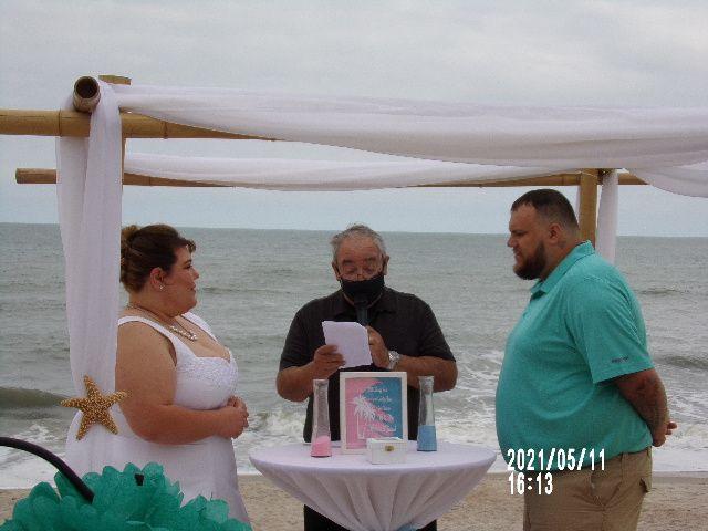 Allen Wedding Sand Ceremony