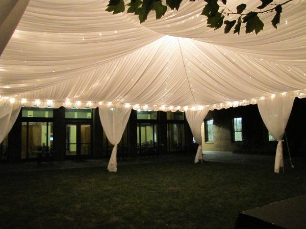 Frame Tent Liner w/ Twinkle Lighting