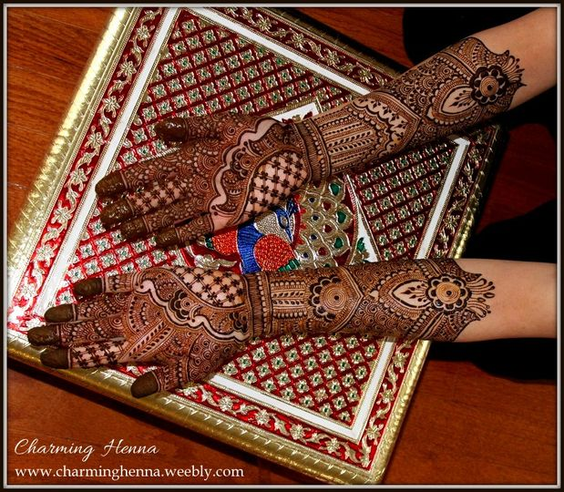 Diamond Bridal Hands