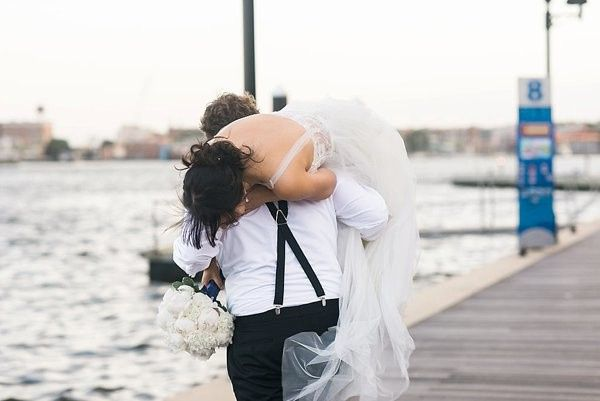 Carrying the bride
