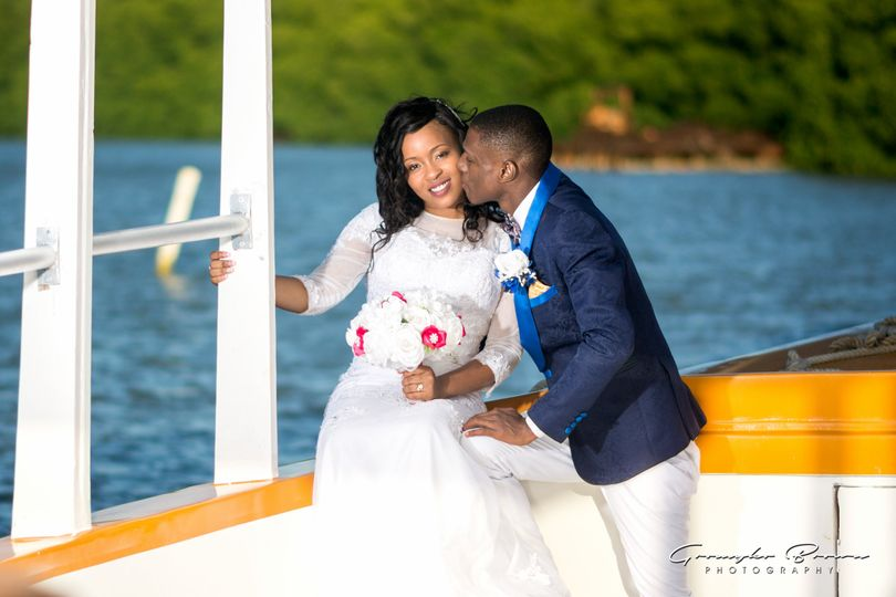 Blissful wedding in Trelawny