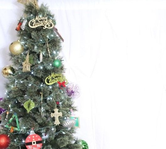 Workplace Christmas Setup