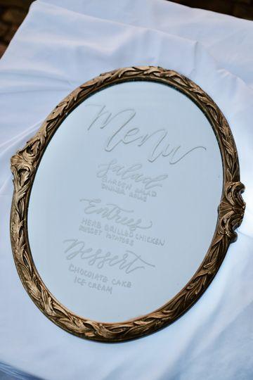 Mirror menu