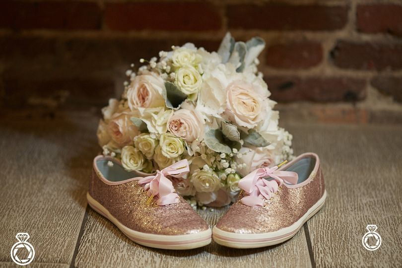 Bouquet and Keds