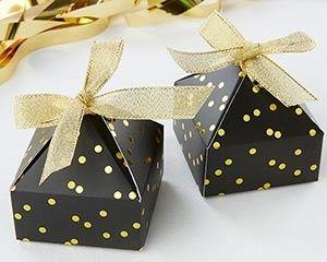 Tmx 1497994505216 28308na Black With Gold Foil Dot Pyramid Shaped Fa Templeton, California wedding favor
