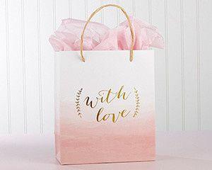 Tmx 1497994556421 28357na With Love Pink Watercolor Gift Bag Ka M Templeton, California wedding favor