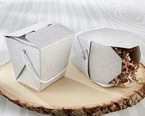 Tmx 1497994564285 28359na Silver Glitter Take Out Box Ka M Templeton, California wedding favor