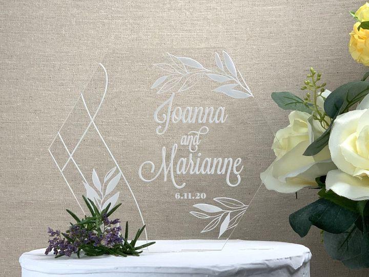 Tmx Geo Spring Cake Topper Lavenderia Copy 51 786025 159500973963956 Templeton, California wedding favor