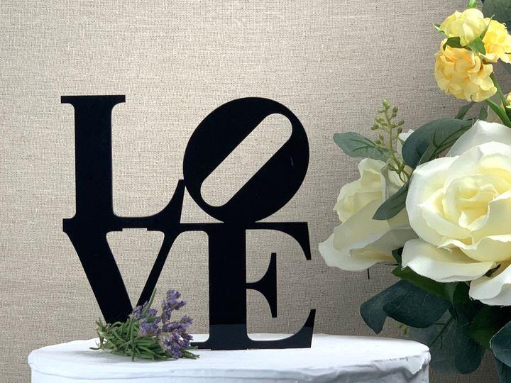 Tmx Love Cake Topper Black Copy 51 786025 159501018762615 Templeton, California wedding favor