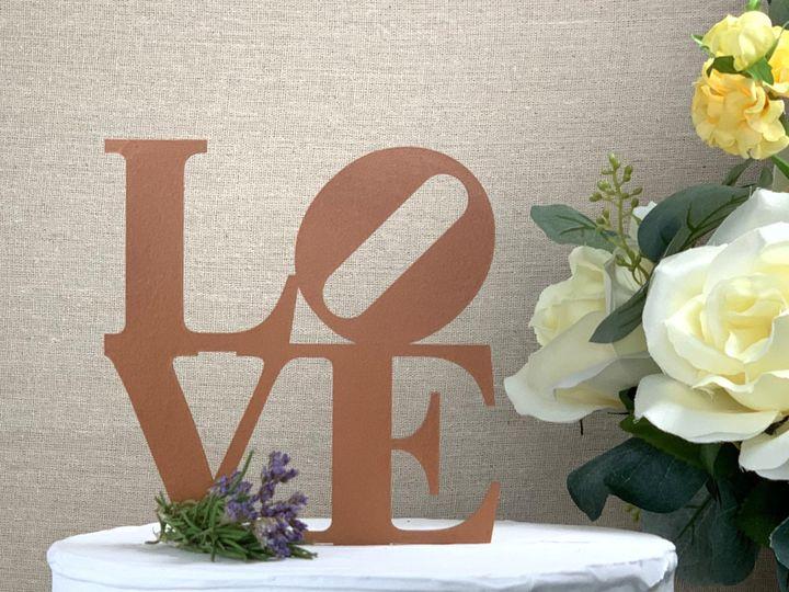 Tmx Love Cake Topper Copper Copy 51 786025 159501020725477 Templeton, California wedding favor