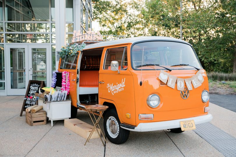 VW BUS Wedding Photo Booth