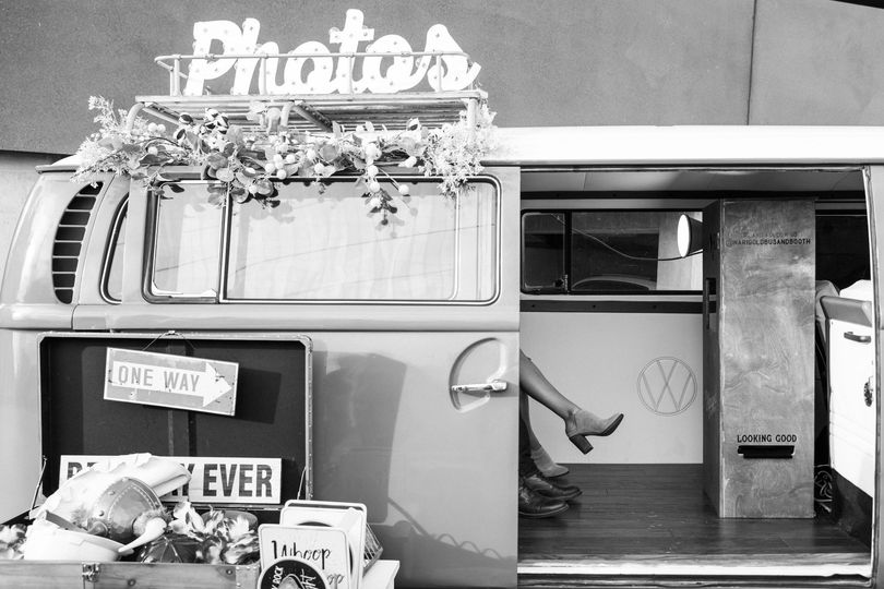 VW BUS Wedding Photo Booth