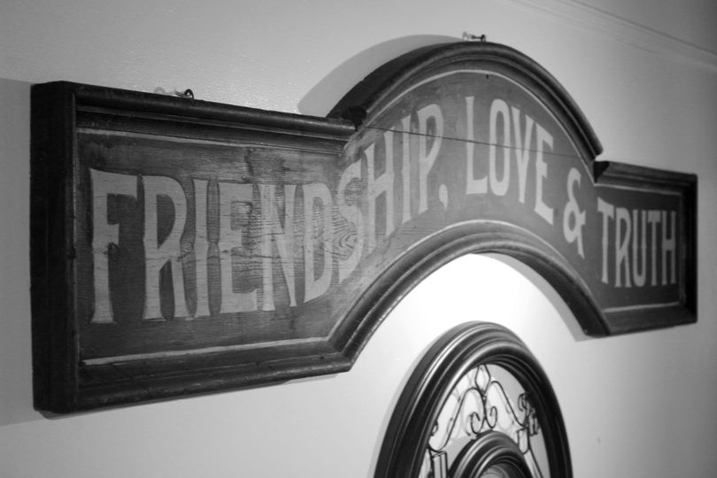 Friendship, love & truth