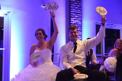 DJTOD Newlywed Game and Wireless Led Uplights