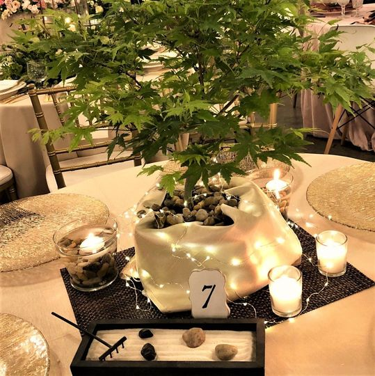Bonsai centerpiece