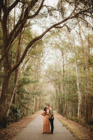 Camp Milton couples session