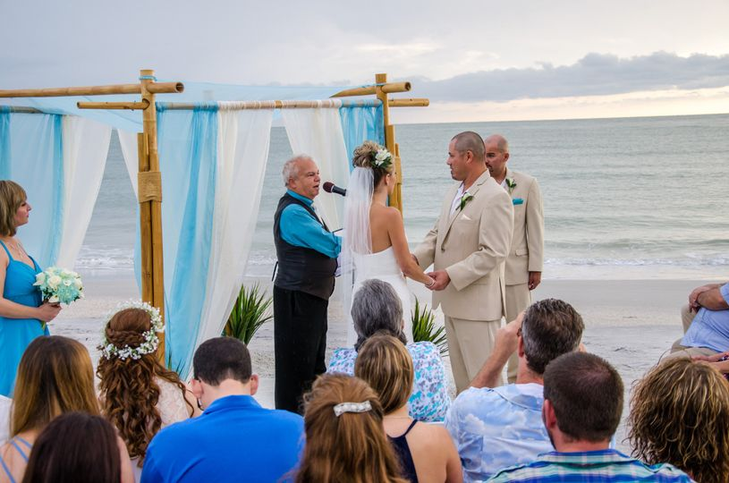 Florida Beach Weddings by Weddings On a Whim