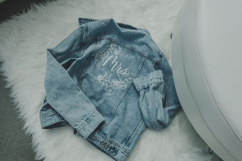 Custom Mrs. Denim Jacket