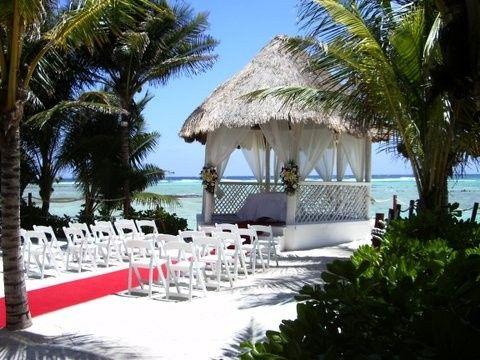 one of seasides 3 beach wedding gazebos