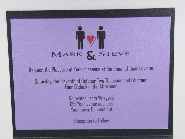 Tmx 1420840907301 Img0274 De Forest wedding invitation