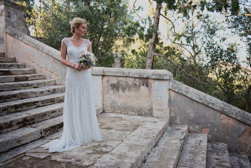 The beautiful bride (Pollensa, Majorca)