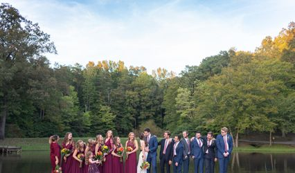 The wedding of Chase and Hillary