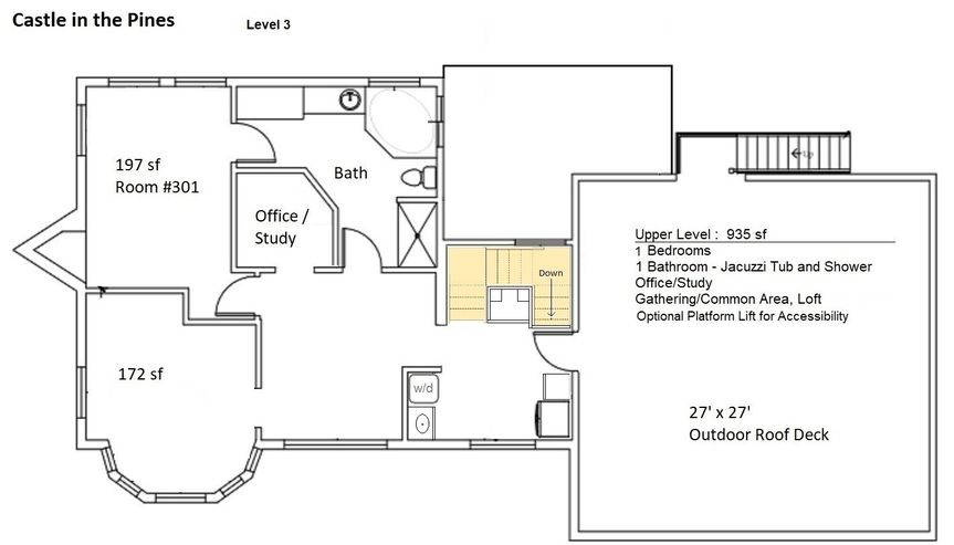 FloorPlan - 3rd Level