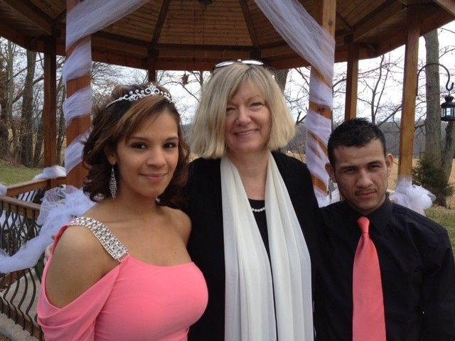 First (semi) bilingual wedding. We did the Lord's Prayer in both English and Spanish and the groom...