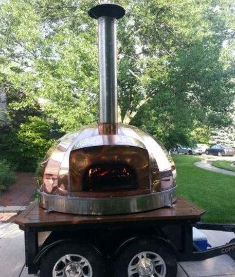 Mobile copper oven