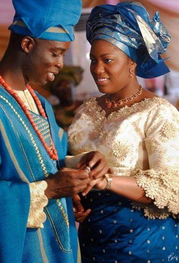 African cultural wedding