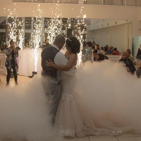 Dreamy first dance