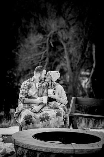 Whimsical Woodland Engagement