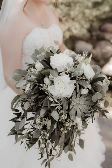 Bride's Boho Bouquet