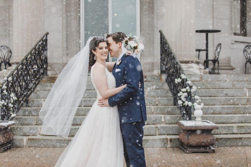 Winter Wedding at The Rotunda