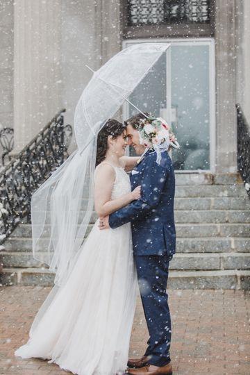 Snowy Weddings at The Rotunda