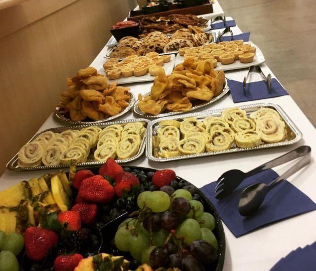 open table appetizer platters