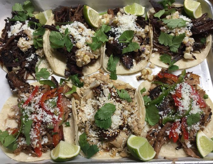 build your own taco bar