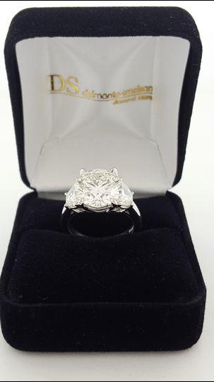 carat stone ring