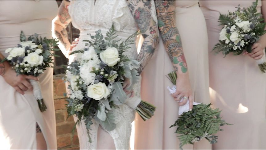 Jed & Malia RVA, bridesmaids